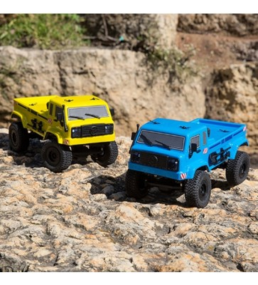 ECX 1/24 Barrage UV 4WD Scaler Crawler RTR, Blue