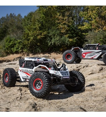 Losi 1/6 Super Rock Rey 4WD Brushless Rock Racer RTR with AVC, Raceline