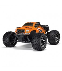ARMA 1/10 GRANITE 4x4 3S BLX Brushless Monster Truck RTR, Orange Black