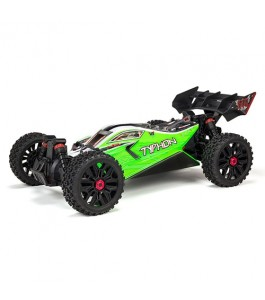 ARRMA 1/8 TYPHON MEGA 550 Brushed 4WD Speed Buggy RTR, Green