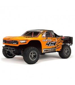 ARRMA 1/10 SENTON 3S BLX 4WD Brushless Short Course Truck with Spektrum RTR, Orange