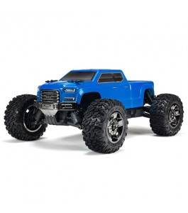 ARRMA 1/10 BIG ROCK CREW CAB 3S BLX 4WD Brushless Monster Truck with Spektrum RTR, Blue