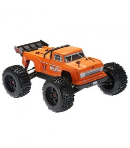 ARRMA 1/8 OUTCAST 6S BLX 4WD Brushless Stunt Truck with Spektrum RTR, Orange