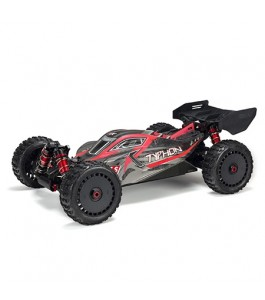 ARRMA 1/8 TYPHON 6S BLX 4WD Brushless Buggy RTR, Red/Grey