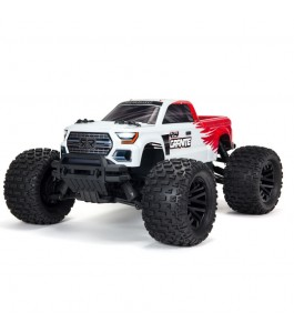 ARRMA 1/10 GRANITE 4X4 V3 MEGA 550 Brushed Monster Truck RTR - Red