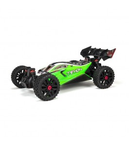 ARRMA 1/8 TYPHON 4X4 V3 MEGA 550 Brushed Buggy RTR, Green