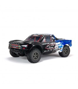 ARRMA 1/10 SENTON 4X4 V3 3S BLX Brushless Short Course Truck RTR, Blue