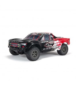 ARRMA 1/10 SENTON 4X4 V3 3S BLX Brushless Short Course Truck RTR, Red