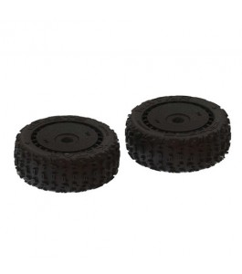 ARRMA dBoots Tire Set, Black (2): Katar B 6S