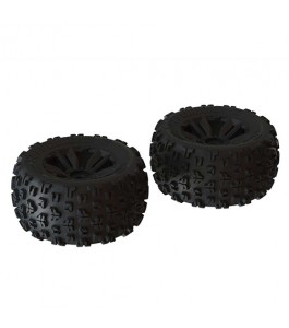 "ARRMA dBoots ""Copperhead2 MT"" Tire Set, Black (2)"