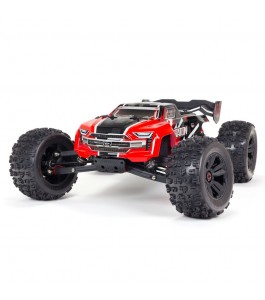 ARRMA 1/8 KRATON 6S V5 4WD BLX Speed Monster Truck with Spektrum Firma RTR, Red