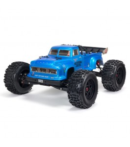ARRMA 1/8 NOTORIOUS 6S V5 4WD BLX Stunt Truck RTR, Blue