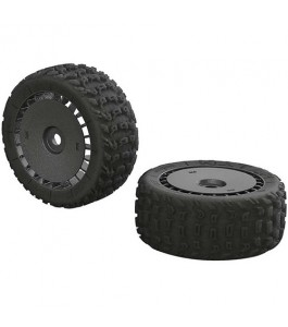 ARRMA KATAR T 6S Tire Wheel Set: Talion (2)