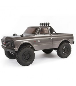 Axial 1/24 SCX24 1967 Chevrolet C10 4WD Truck Brushed RTR, Silver