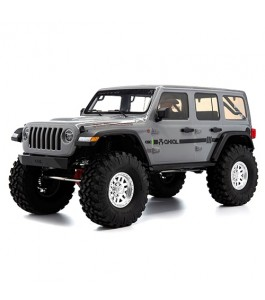 Axial 1/10 SCX10 III Jeep JLU Wrangler with Portals RTR, Gray