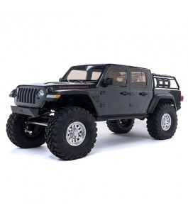 Axial 1/10 SCX10 III Jeep JT Gladiator Rock Crawler with Portals RTR, Grey