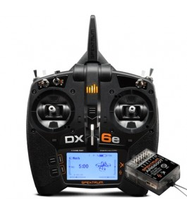 Spektrum DX6e 6-Channel DSMX Transmitter with AR6600T