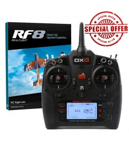 RealFlight RF-8 Software with DX8
