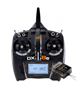 Spektrum DX8e 6-Channel DSMX Transmitter with AR6600T