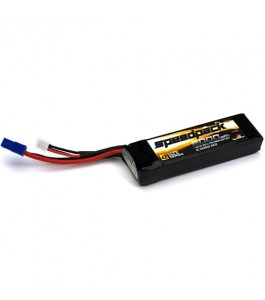Dynamite 7.4V 2000mAh 30C 2S LiPo, Long with EC3