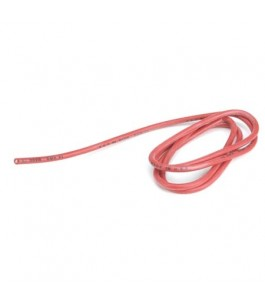 14AWG Silicone Wire 3', Red