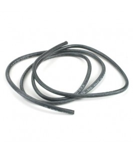 12AWG Silicone Wire 3', Black