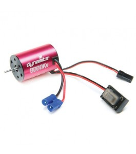 Dynamite Brushless Motor/ESC 2-in-1 Combo, 6000Kv: Mini-T 2.0