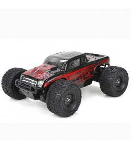 ECX 1/18 Ruckus 4WD Monster Truck RTR, Black/Red