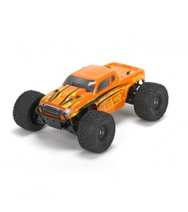 ECX 1/18 Ruckus 4WD Monster Truck RTR, Orange/Yellow