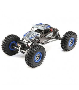 ECX 1/18 Temper 4WD Gen 2 Brushed RTR, Blue