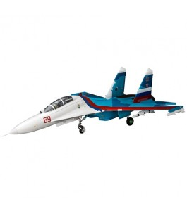E-flite SU-30 Twin 70mm EDF BNF Basic with AS3X & SAFE Select, 1100mm