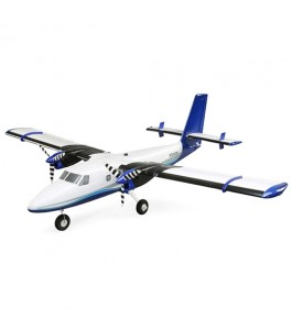 E-flite Twin Otter 1.2m BNF Basic with AS3X and SAFE, includes Floats