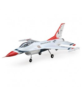 E-flite F-16 Thunderbirds 70mm EDF BNF Basic w/AS3X and SS