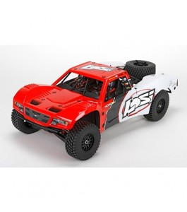 Losi 1/10 Baja Rey 4WD Desert Truck Brushless RTR with AVC, Red