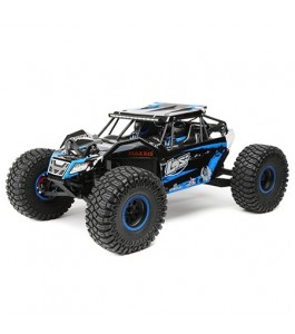 Losi 1/10 Rock Rey 4WD Brushless RTR with AVC, Blue
