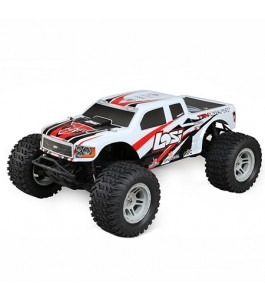 Losi 1/10 Tenacity 4WD Monster Truck Brushless RTR with AVC, White