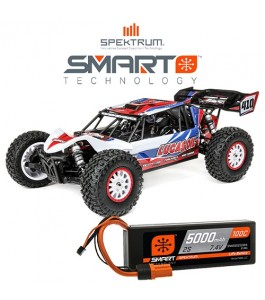 Losi 1/10 Tenacity DB Pro 4WD Desert Buggy RTR w Smart, Lucas Oil with 1x Spektrum Smart Battery Promotion