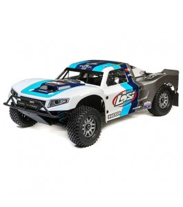 Losi 1/5 5IVE-T 2.0 4WD Short Course Truck Gas BND, Grey/Blue/White