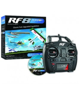 RealFlight RF8 Horizon Hobby Edition with InterLink-X Controller