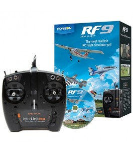 RealFlight RF9 Flight Simulator with Spektrum Controller