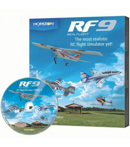RealFlight RF9 Flight Simulator, Software Only
