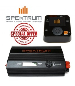 Spektrum SMART 30A 540W Power Supply w SMART S1200 DC Charger Combo