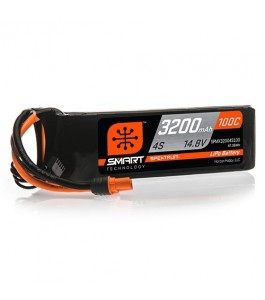 Spektrum 3200mAh 4S 14.8V 100C Smart LiPo Battery w IC3