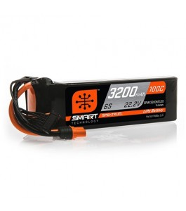 Spektrum 3200mAh 6S 22.2V 100C Smart LiPo Battery w IC3