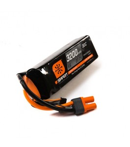Spektrum 3200mAh 6S 22.2V 30C Smart LiPo Battery w IC5