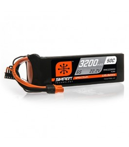 Spektrum 3200mAh 6S 22.2V 50C Smart LiPo Battery