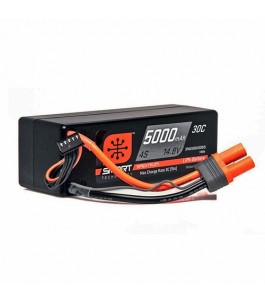 Spektrum 14.8V 5000mAh 4S 30C Smart LiPo Hardcase LiPo Battery: IC5