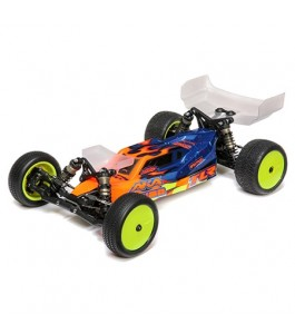 TLR 1/10 22 5.0 2WD Buggy DC Race Kit, Dirt/Clay