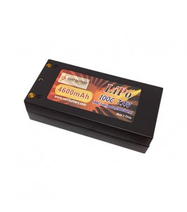 Vant Battery 4600mAh 7.4V 100C Hardcase Shorty