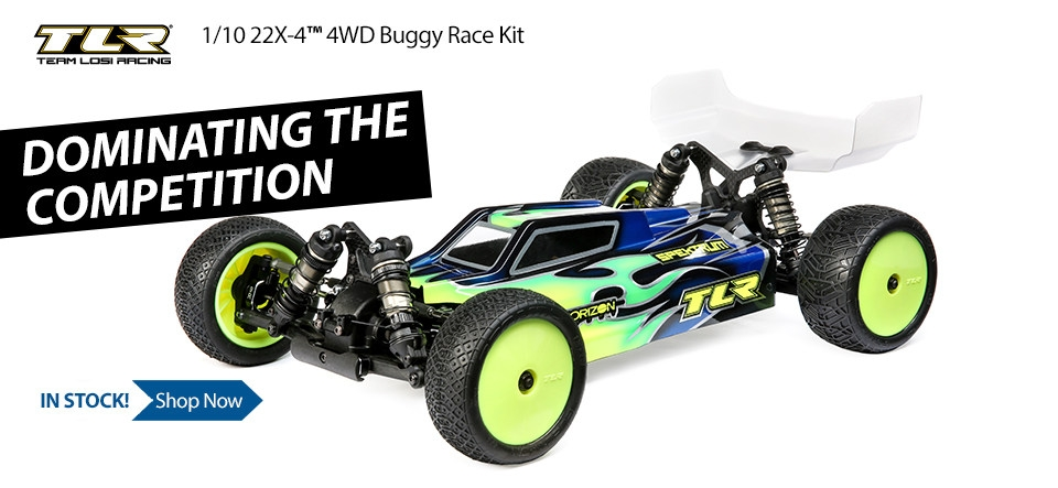 TLR 1/10 22X-4 4WD Buggy Race Kit